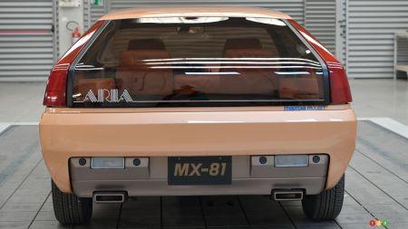 The MX-81 Aria, rear