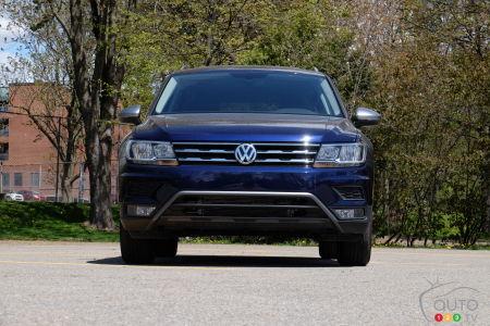 Volkswagen Tiguan 2021, avant