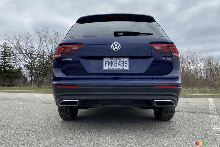 2021 Volkswagen Tiguan, rear