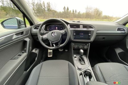 2021 Volkswagen Tiguan, interior