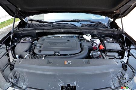 2022 Buick Envision Avenir, engine