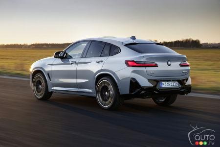 2022 BMW X4 M, three-quarters rear