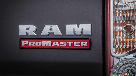 2022 Ram ProMaster, badging