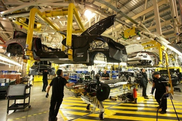 A Private Tour Of The Aston Martin Factory  Tea & Biscuits