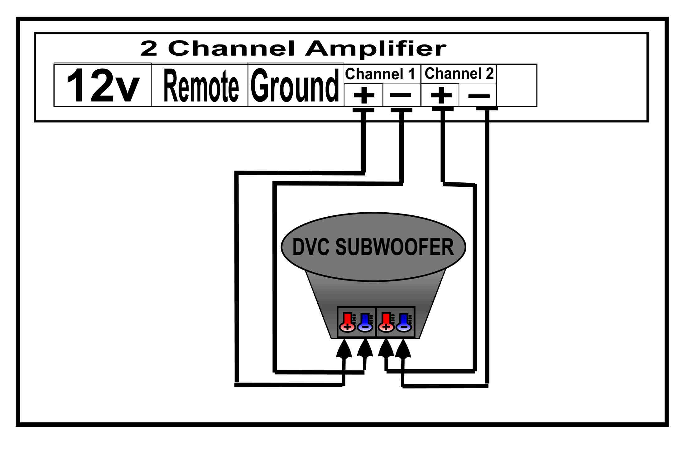 2 channel and 4 speakers ford 0 belt diagram help with wiring my audiobahn aw 1200 q spl 460
