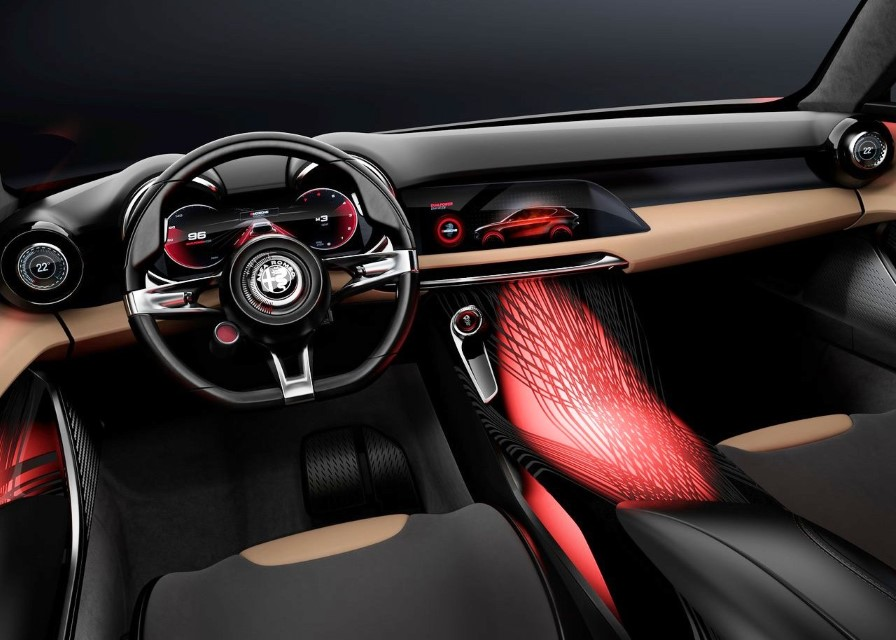2020 Alfa Romeo Tonale Interior Technology