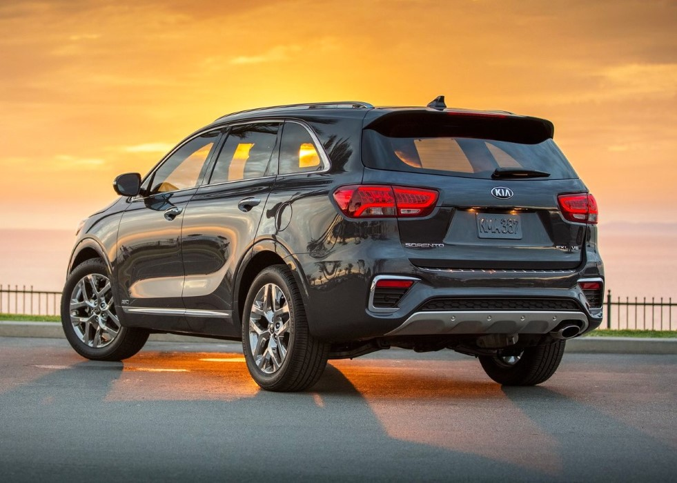 2020 Kia Sorento Fuel Lease