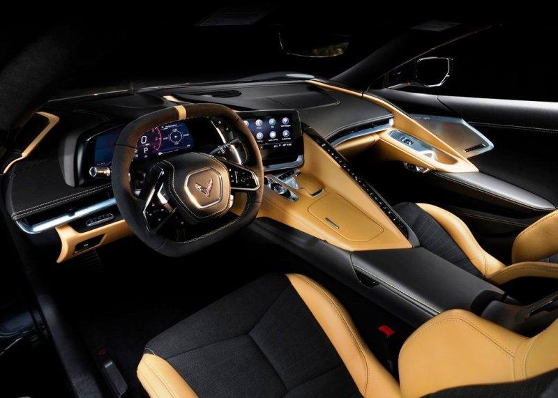 2020 Corvette Stingray Natural Dipped Interior Colors