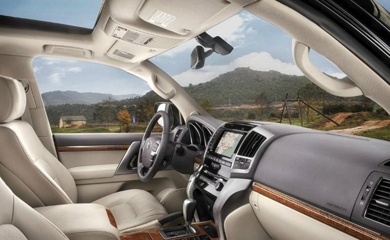 2020 Toyota Land Cruiser Prado Interior Concept Pictures With Plenty Upgrade