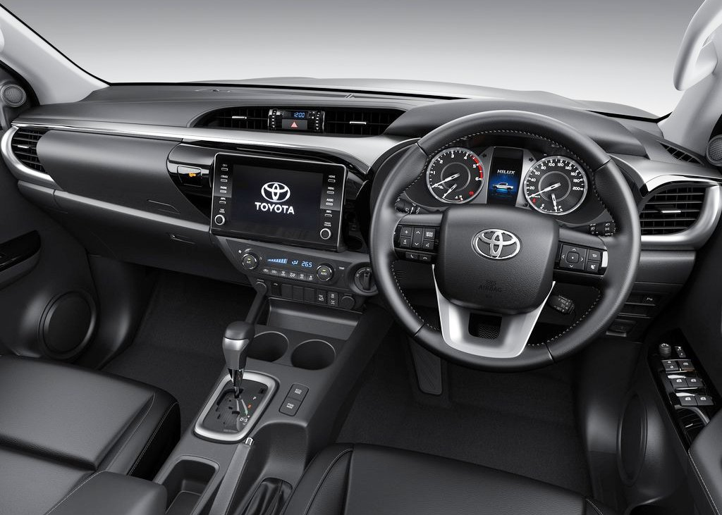 2021 Toyota Hilux New Infotaiment hardware