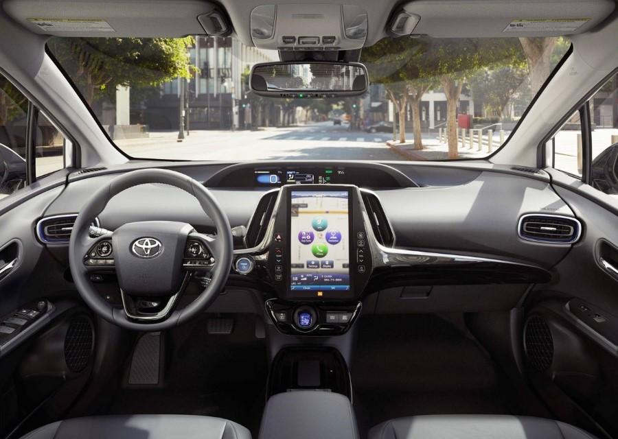 2021 Toyota Prius Interior Updates