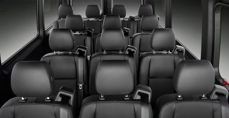 2021 Mercedes Sprinter Passenger Interior