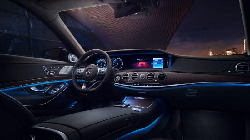 2021 Mercedes U Class Interior