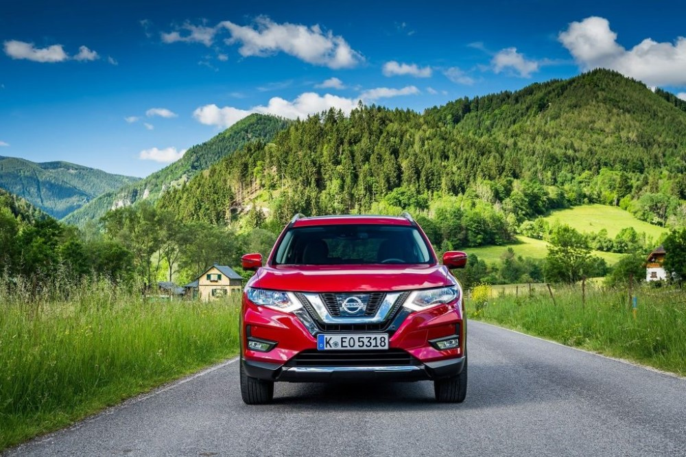 2021 Nissan X Trail Red Color Front Angle