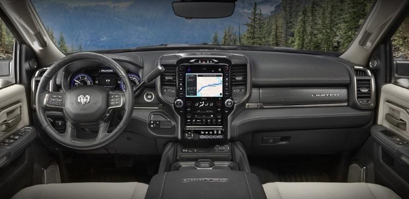 2021 Ram 3500 Interior Features