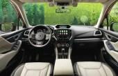 2021 Subaru Forester Interior Changes