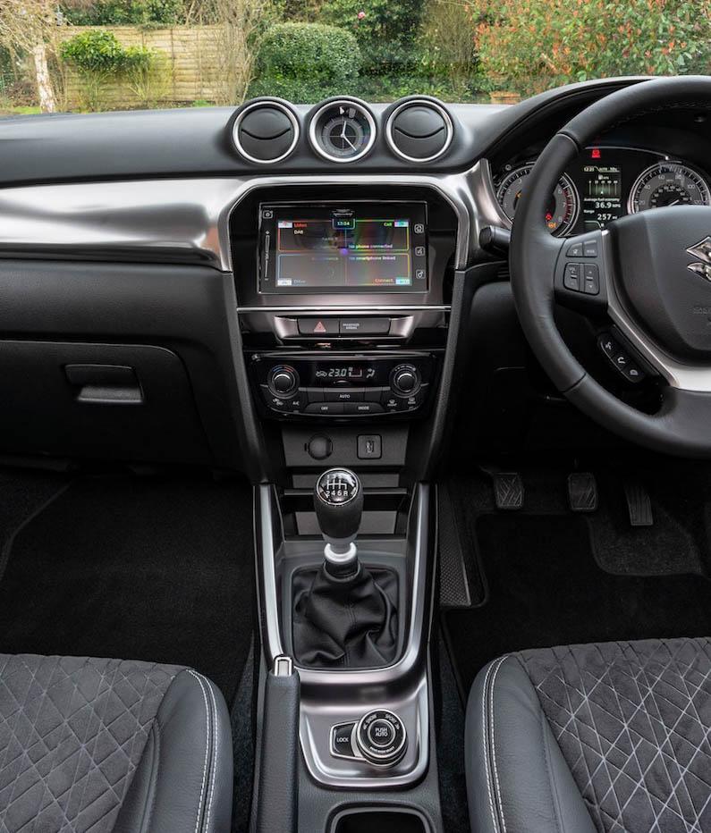 2021 Suzuki Vitara Interior Pictures Leaked