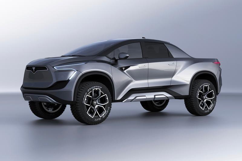 2021 Tesla Pickup Truck Dimensions