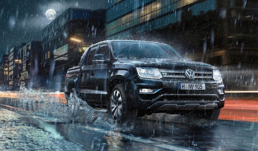 2021 VW Amarok Towing