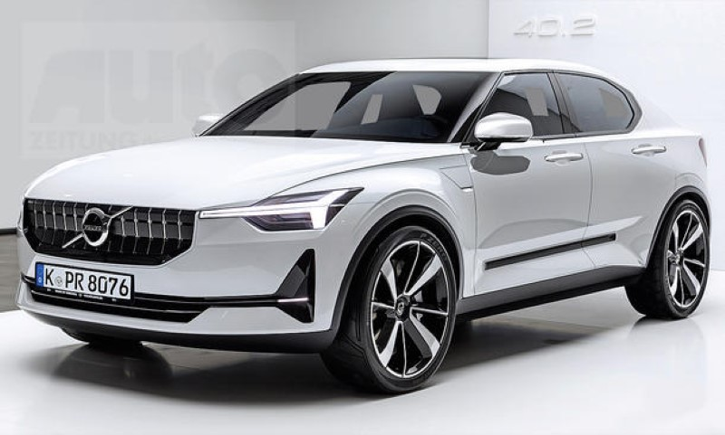 2021 volvo v40 overview  a hot crossover with electric powertrains