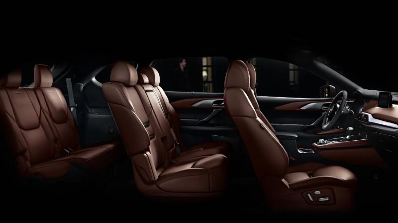 2021 Mazda CX-9 7 Seater Interior With Leather Interior