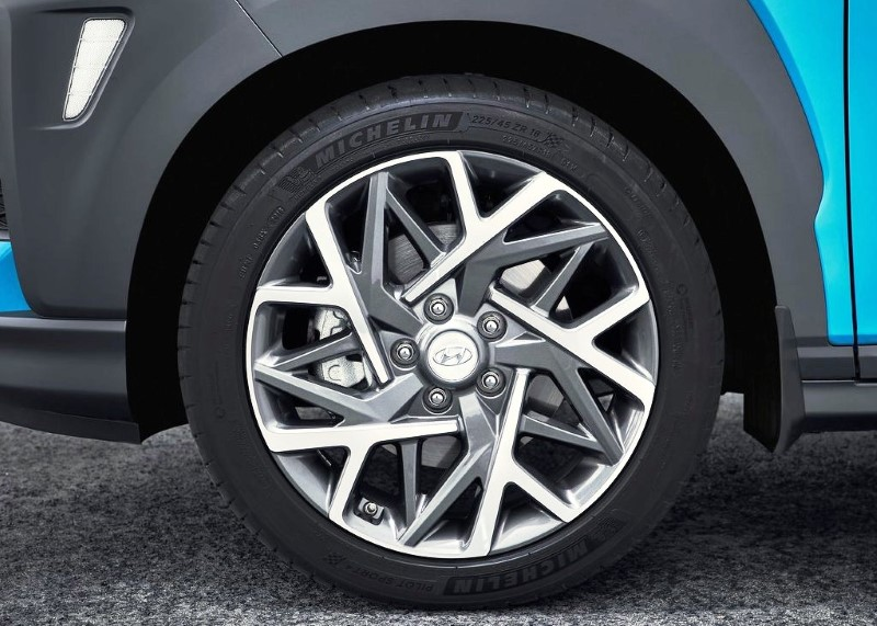2021 Hyundai Kona Wheel Size
