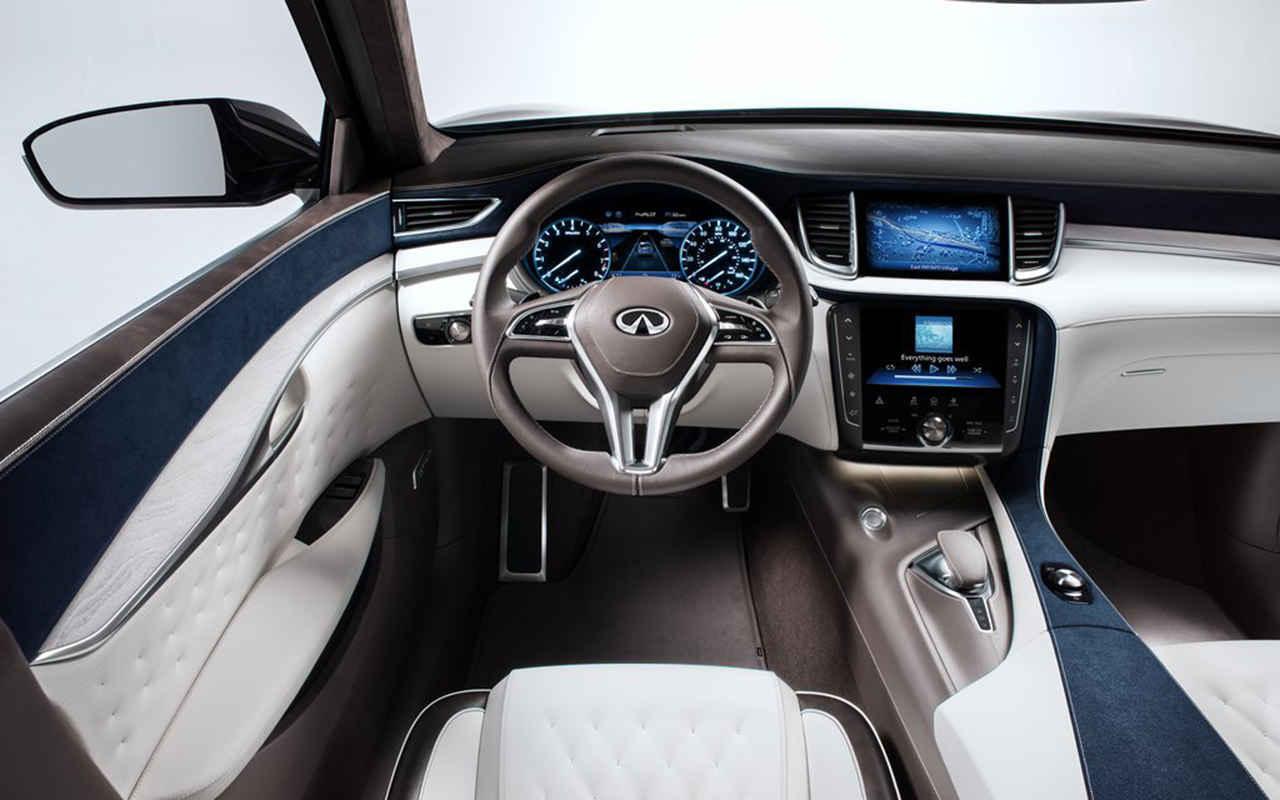 2021 Infiniti QX50 Interior Changes