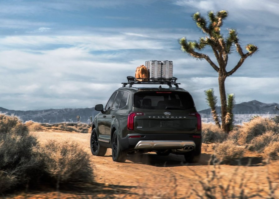 2021 KIA Telluride Towing Capacity