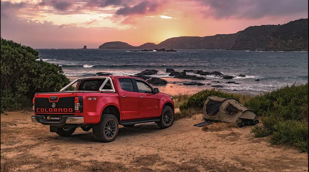2021 GMC Colorado 4X4 Truck Red Color Performance