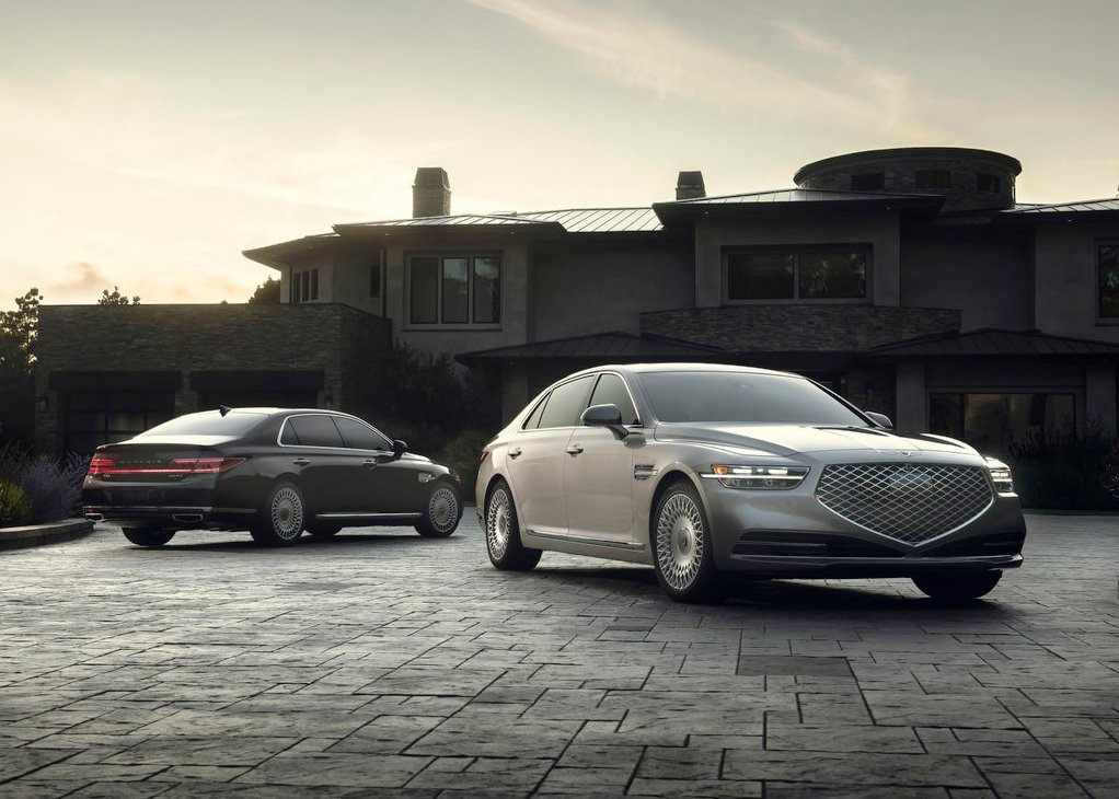 2021 Genesis G90 Luxury Sedan Color Options