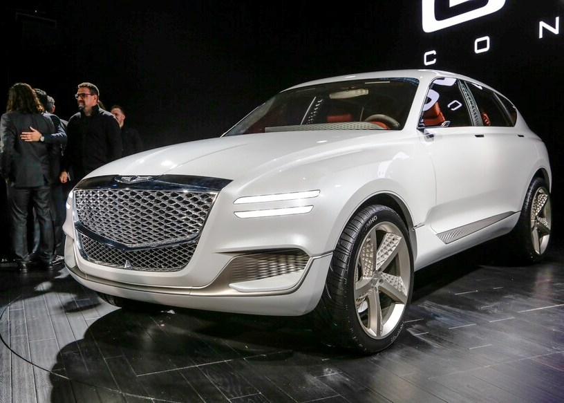 2021 Genesis GV80 Electric Fuel Cell Luxury SUV Premiere