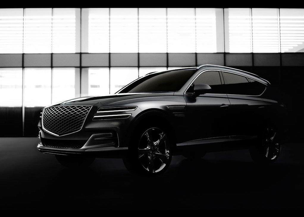 2021 Genesis GV80 Luxury Compact SUV Sub brand of Hyundai