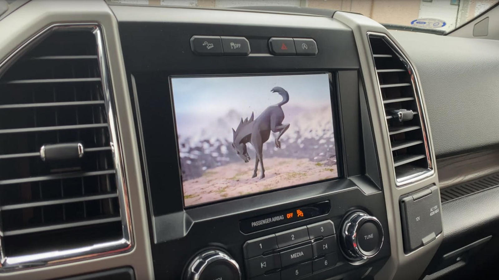 2021 Ford Bronco Interior With Large Screen