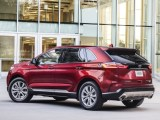 2021 Ford Edge Red Color Titanium Pricing