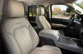 2021 Ford Expedition Interior With White Leather Colors
