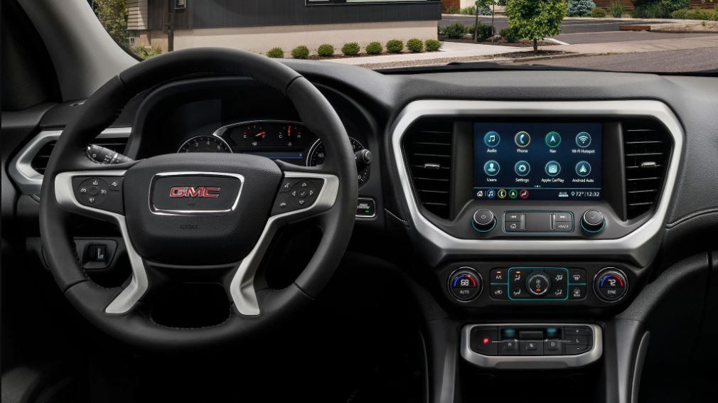 2021 GMC Acadia Interior Dashboard