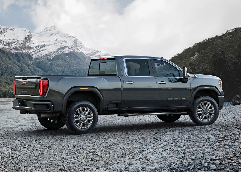 2021 GMC Sierra 2500HD Dimensions
