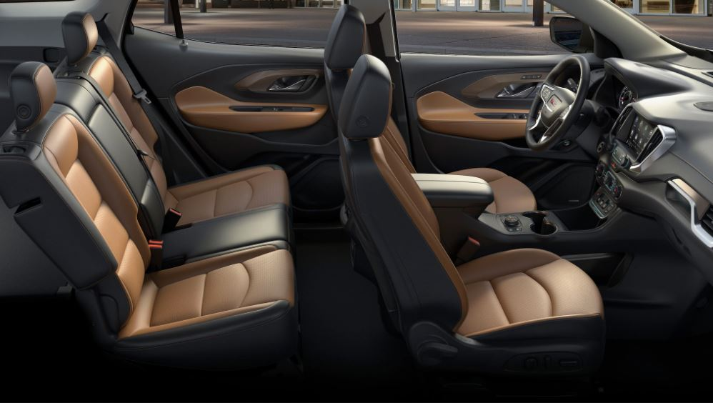 2021 GMC Terrain Interior and Seating Capacity