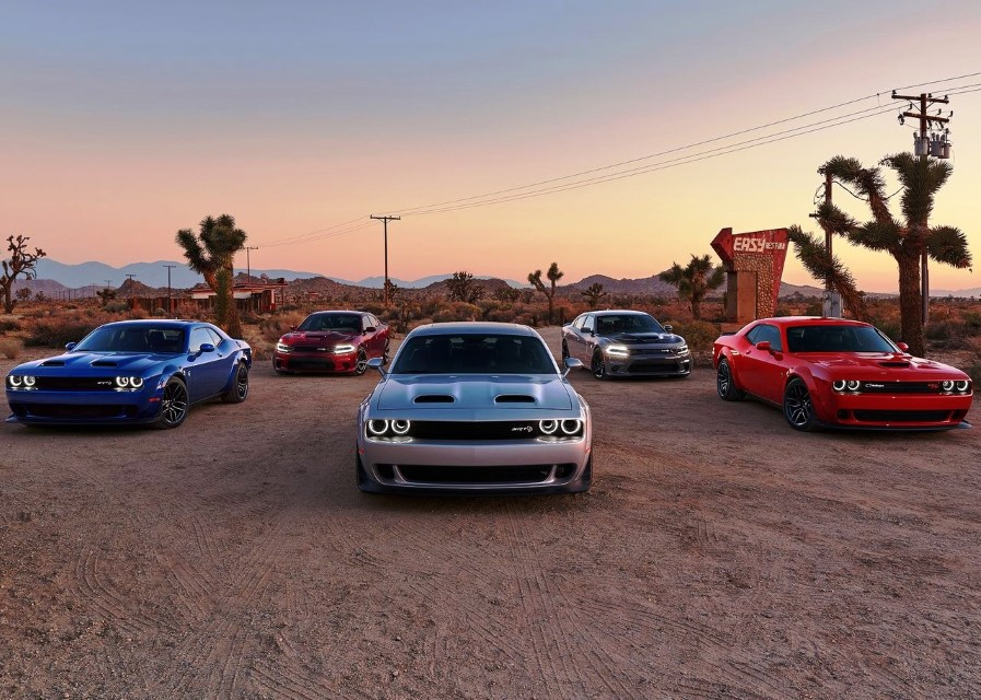 2021 Dodge Challenger 426 Versions