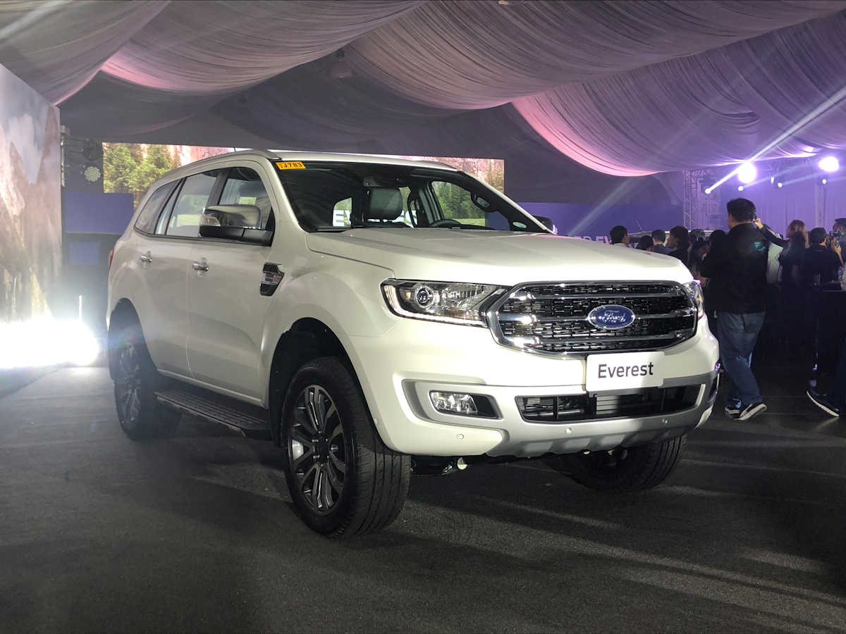 2021 Ford Everest SUV Price