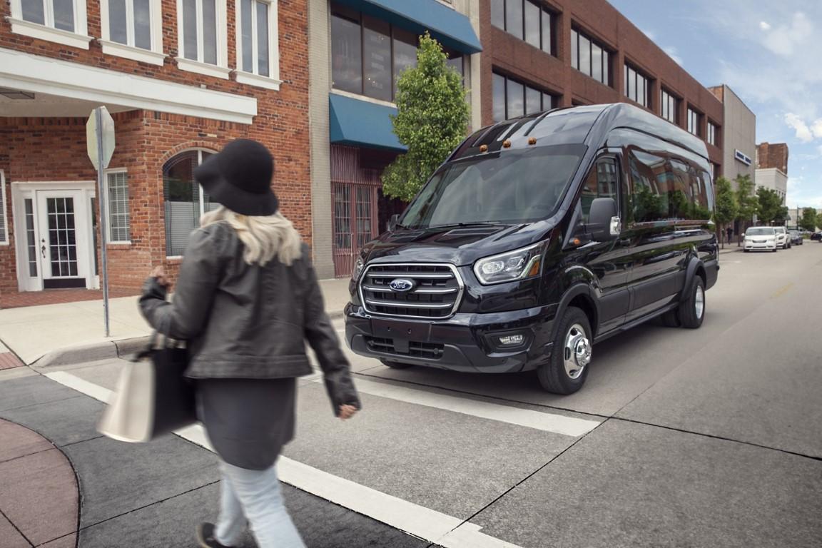 2021 Ford Transit 12 Passenger Black Color