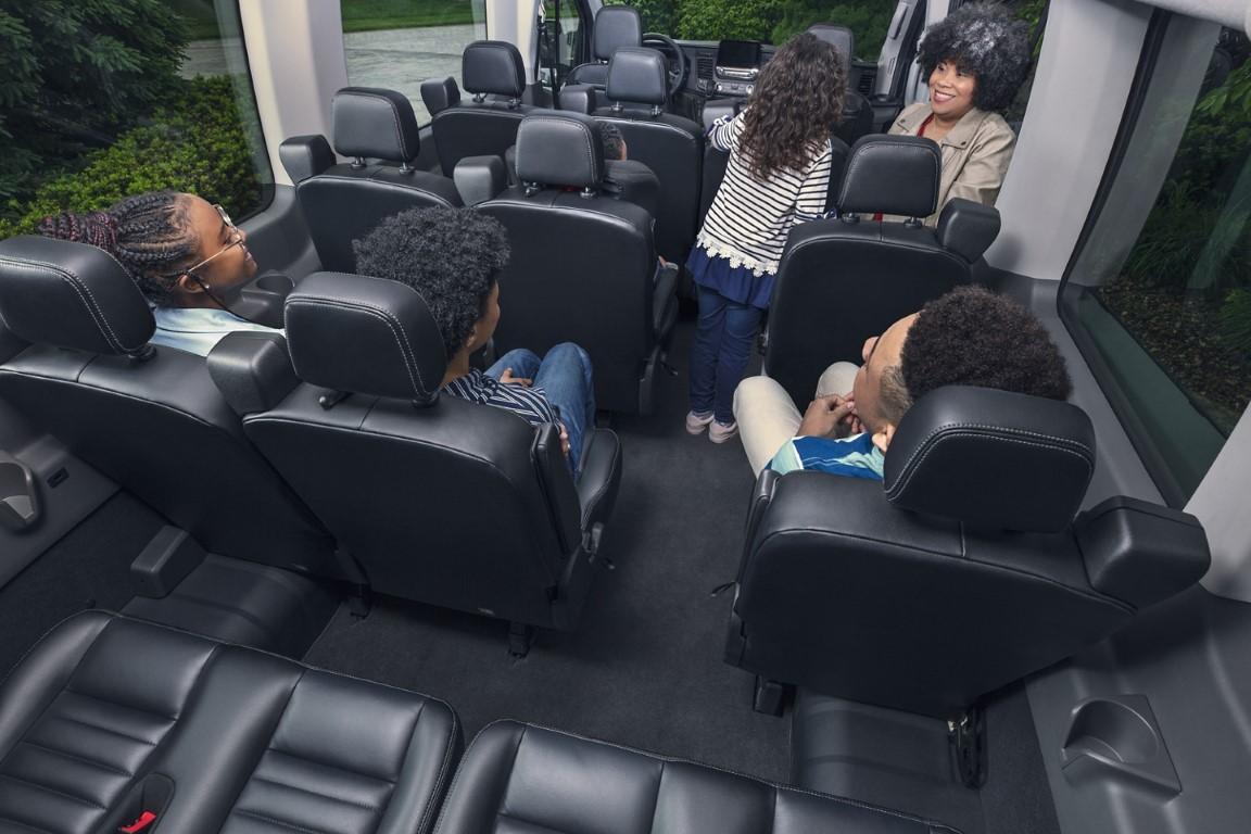 2021 Ford Transit 12 Passenger Van Interior