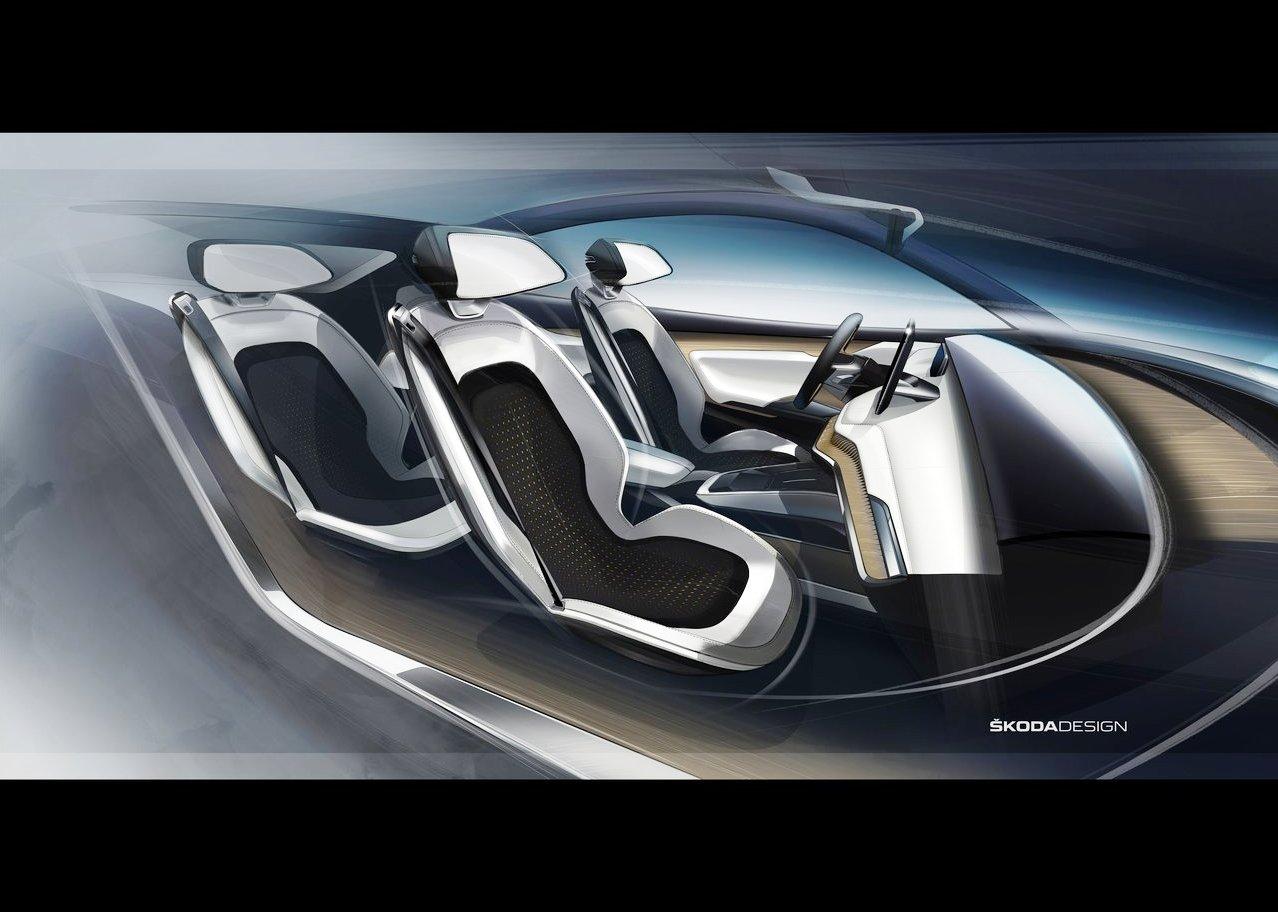New Skoda Eniaq Interior Concept