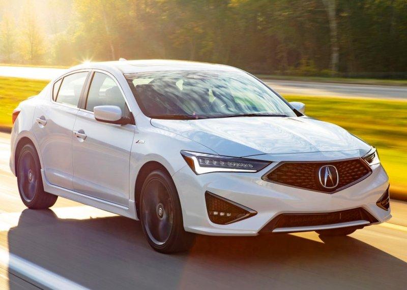 2021 Acura ILX A-Specs White Color