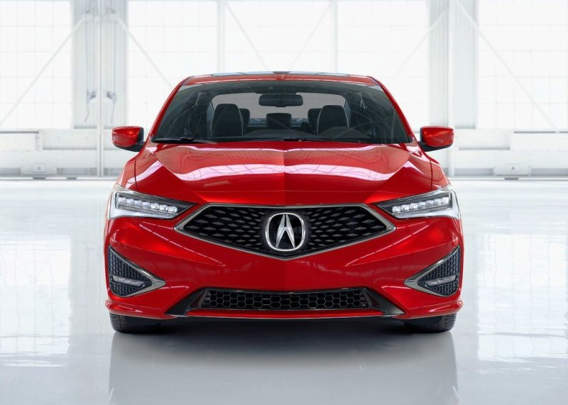 2021 Acura ILX Front Angle Changes Red Color