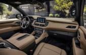 2021 Chevy Silverado Interior Photos Based on Suburban