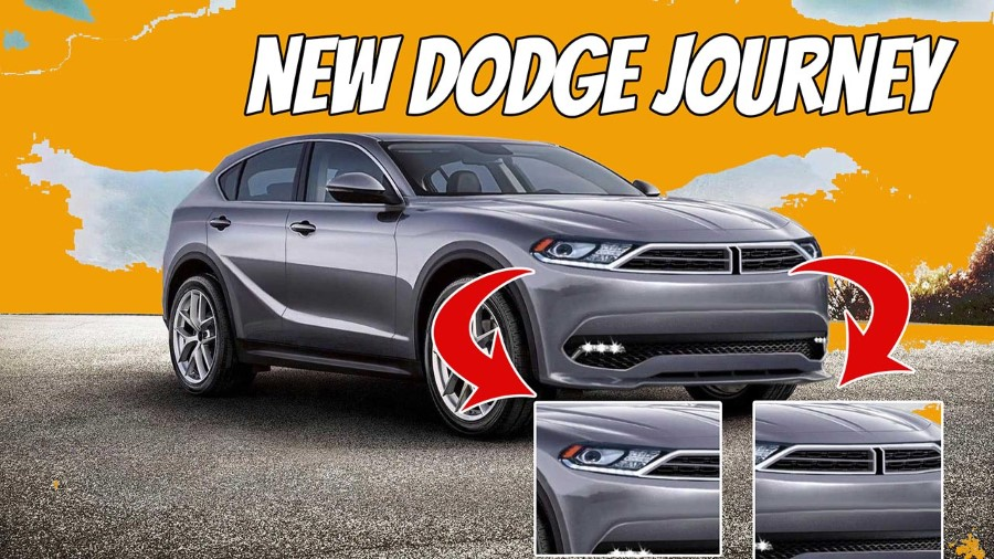 2021 Dodge Journey Concept Design Future With New Grille