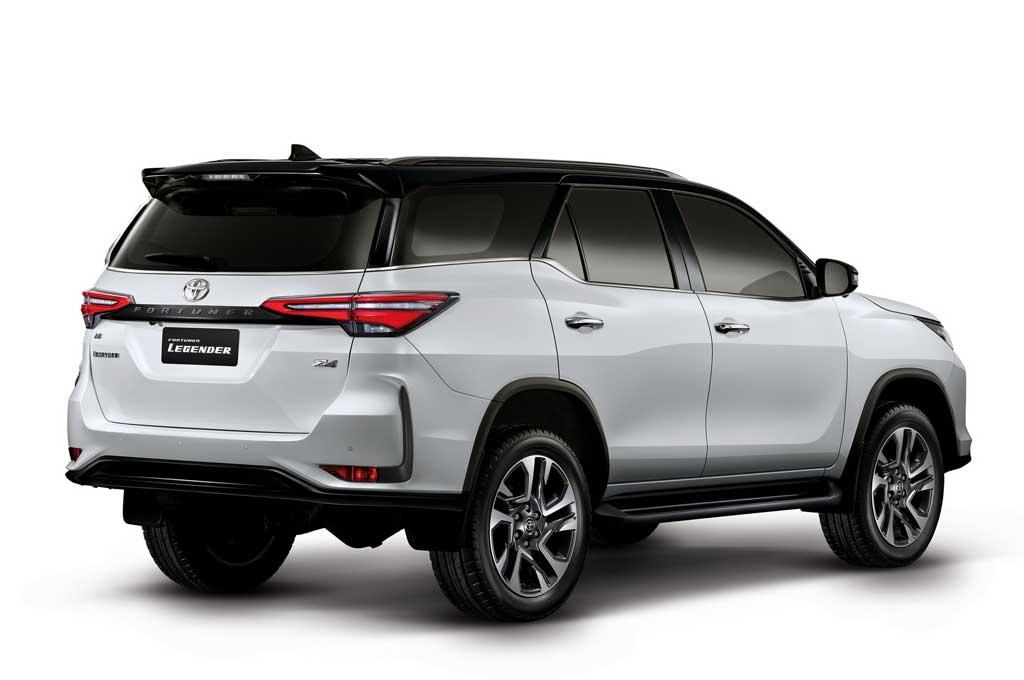 2021 Toyota Fortuner Legender Specs