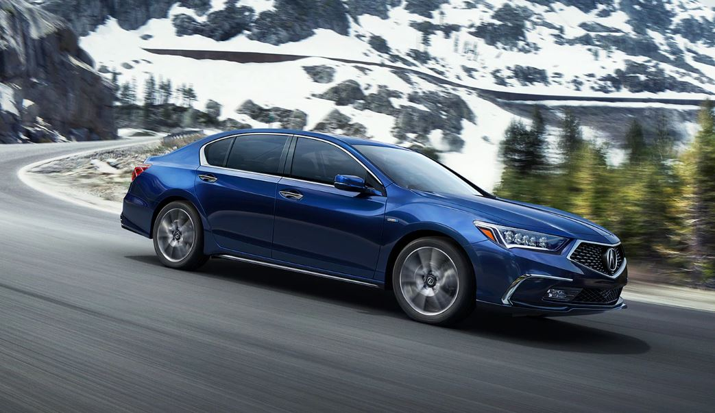 2021 Acura RLX Hybrid with SH-AWD Systems