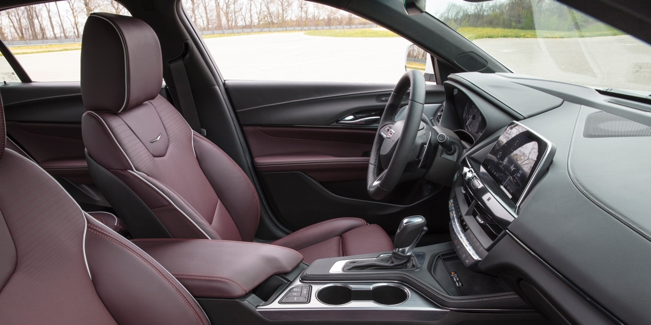 2021 Cadillac CT4 Interior Images